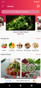 Android Recipe Book App v2 1 - (Cooking, Chef, Healthy Food
